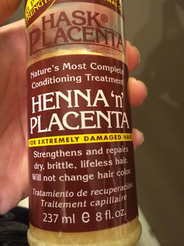 Photo of Hask Placenta Henna 'n' Placenta for Extremely Damaged Hair 237ml/8oz uploaded by Nikki K.
