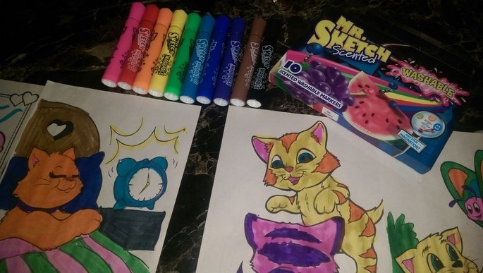 Mr. Sketch Scented Washable Markers uploaded by Amanda H.