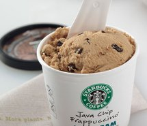 Starbucks Ice Cream  image uploaded by Tina C.
