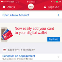 Bank of America App uploaded by Elise R.