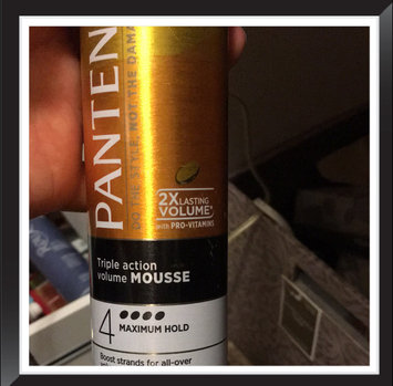 Photo of Pantene Pro-V Fine Hair Style Volume Triple Action Hair Mousse, 6.6 oz uploaded by Brandy D.
