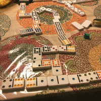 Fundex Games Mexican Train Dominoes Game in a Tin Ages 8+ uploaded by Marcie M.