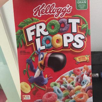 Kellogg's Froot Loops Cereal uploaded by Waleska J.