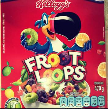 Kellogg's Froot Loops Cereal uploaded by Nicole T.