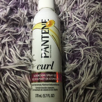 Pantene Pro-V Curly Hair Style Curl Enhancing Spray Hair Gel uploaded by Melissa R.