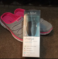 Fitbit - Charge Wireless Activity Tracker + Sleep Wristband (large) - Black uploaded by Christen F.