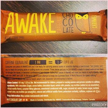 Photo of AWAKE Caffeinated Chocolate bar uploaded by Chloe G.