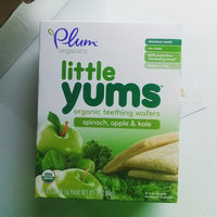 Plum Organics Baby Little Yums Organic Teething Wafers Spinach Apple Kale uploaded by Ashley C.