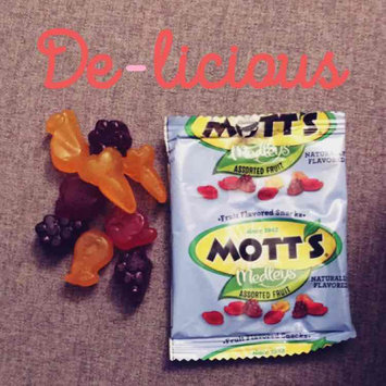 Photo of Mott's® Medleys Assorted Fruit Flavored Snacks uploaded by Jessica R.