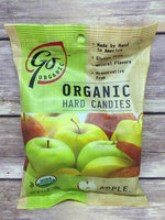 Go Lightly Go Naturally Organic Hard Candies Apple 3.5 oz bag: 6ct uploaded by Vanna L.