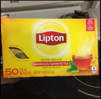 Lipton 100% Natural Tea 100 ct uploaded by Ruzzy G.