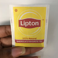Lipton® 100% Natural Tea Bags uploaded by B H.