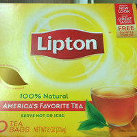 Lipton® 100% Natural Tea Bags uploaded by Miss A.