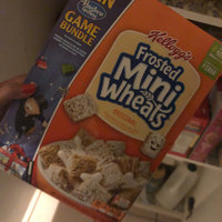 Kellogg's Mini-Wheats Bite Size Frosted Cereal uploaded by Jadiena D.