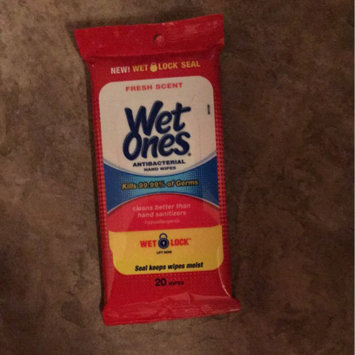 Wet Ones Antibacterial Hand Wipes Fresh Scent 20 ct uploaded by Miranda F.