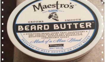 Photo of Maestro's Classic Beard Butter Mark of a Man Blend uploaded by Skylar H.