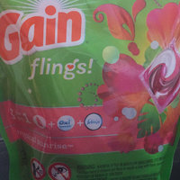 Gain Flings Tropical Sunrise Scent Laundry Detergent Pacs uploaded by Chantal C.