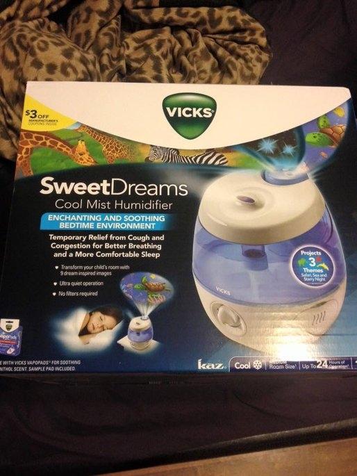 Vicks® Sweet Dreams Cool Mist Humidifier uploaded by DeAngela B.