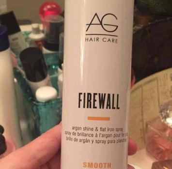 Ag Hair Smooth Firewall Argan Shine & Flat Iron Spray uploaded by Jen