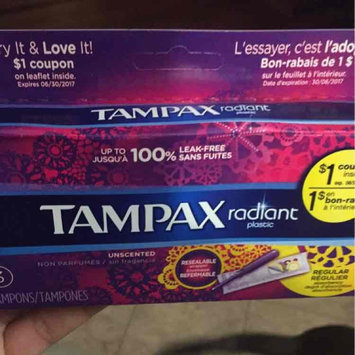 Photo of Tampax Radiant Regular uploaded by Mikaikylife S.