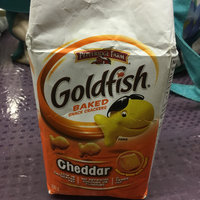 Goldfish® Cheddar Baked Cheddar Snack Crackers uploaded by Nathalie B.