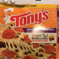 Tony's™ Pizzeria Style Crust Sausage & Pepperoni Pizza 19.38 oz. Box uploaded by Toya A.
