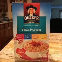 Quaker® Instant Oatmeal Fruit And Cream Variety Pack uploaded by Despina N.