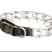 Coastal Pet Products DCP15518 Titan Snap-On Prong Training Collar with 1-Handed Quick Snap Style, 18-Inch, Chrome uploaded by Jamie T.
