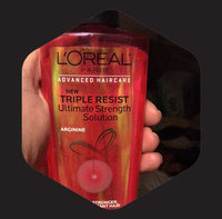 L'Oréal Paris Advanced Haircare Triple Resist Ultimate Strength Solution uploaded by Brandy D.