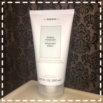 Photo of KORRES Greek Yoghurt Foaming Cream Cleanser uploaded by Krista L.
