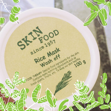 Photo of Skinfood - Rice Mask Wash Off 100g uploaded by Candy B.