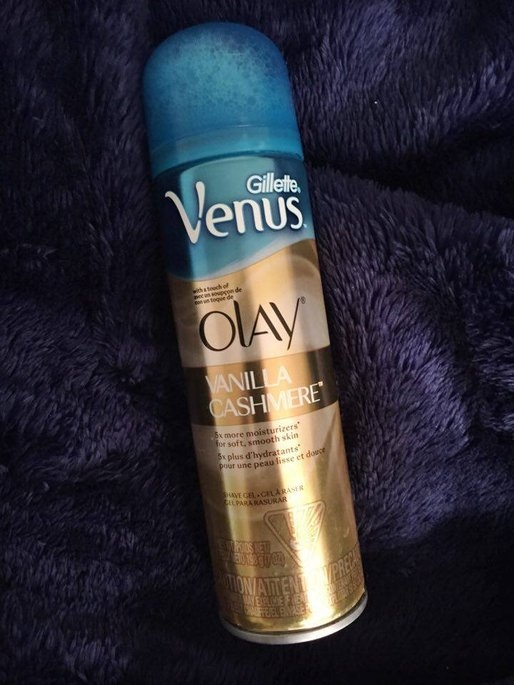 Gillette Venus® with a touch of Olay® Vanilla Cashmere™ Shave Gel uploaded by Vanna L.