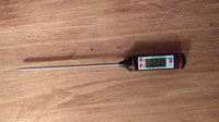 LovIT Scientific Digital Internal Meat Thermometer for Grilling and Oven Roasting - Accurate, Electronic Probe - Easy to Read uploaded by Lindsey M.