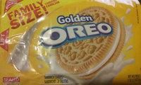 Nabisco Oreo Golden Sandwich Cookies uploaded by Keri S.