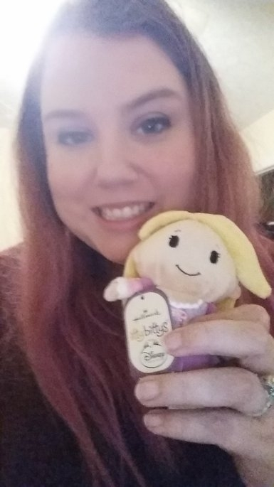 Hallmark Itty Bittys Disney Princess Rapunzel uploaded by Jessica O.