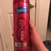 Suave® Max Hold # 8 Aerosol Hairspray & Max Hold Unscented Aerosol Hairspray uploaded by Flor l.