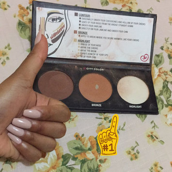 Photo of City Color Cosmetics Contour Effects Palette uploaded by fatima carolina t.