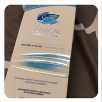 Secret® Clinical Strength Invisible Solid Completely Clean uploaded by tanya m.