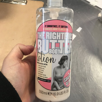 Photo of Soap & Glory The Righteous Butter Body Lotion, 16.2 oz uploaded by Cindy T.