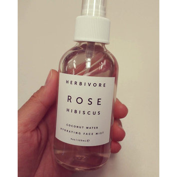 Photo of Herbivore Rose Hibiscus Coconut Water Hydrating Face Mist 4 oz uploaded by Millie Y.