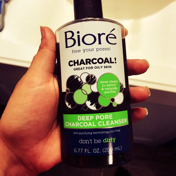 Photo of Bioré Deep Pore Charcoal Cleanser uploaded by Brandi C.