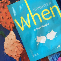 When Snow Magic Sheet Mask 0.8 oz uploaded by Vanna L.