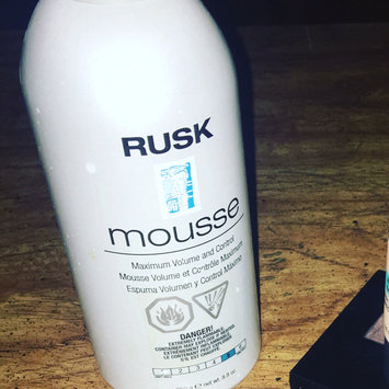 Photo of Rusk Rusk Mousse Maximum Volume and Control uploaded by Jessica B.