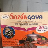 Goya® Sazòn  Coriander and Annato Low Sodium Seasoning uploaded by Yarisa S.