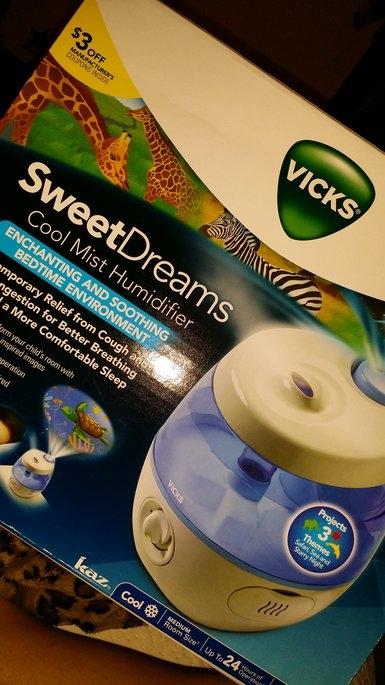 Vicks® Sweet Dreams Cool Mist Humidifier uploaded by janine s.