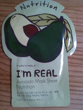 Tony Moly - I'm Real Avocado Mask Sheet (Nutrition) 10 pcs uploaded by Tiffany A.