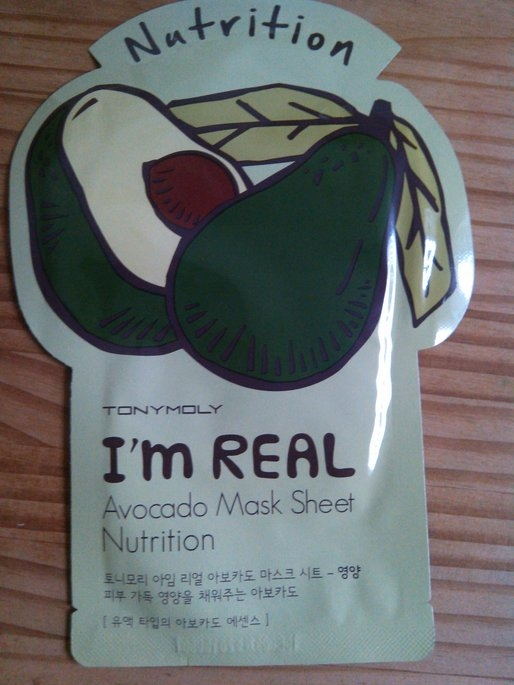 Tony Moly - I'm Real Avocado Mask Sheet (Nutrition) 10 pcs uploaded by Tiffany A.