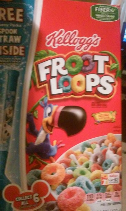 Kellogg's Froot Loops Cereal uploaded by sugeith g.