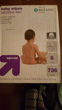 up & up Sensitive Baby Wipes Refill Pack uploaded by NADINE A.