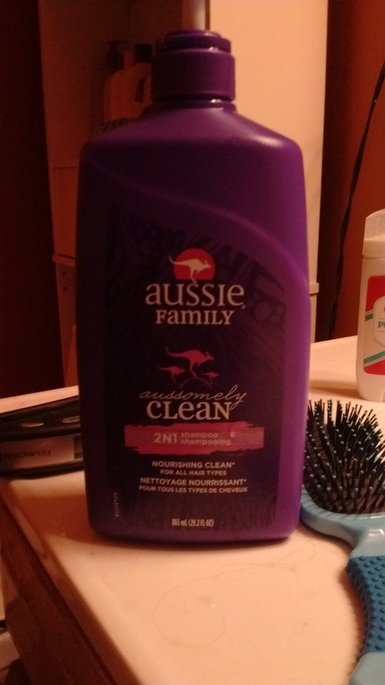 Aussie Aussomely Clean 2-In-1 Shampoo + Conditioner uploaded by Rebecca M.